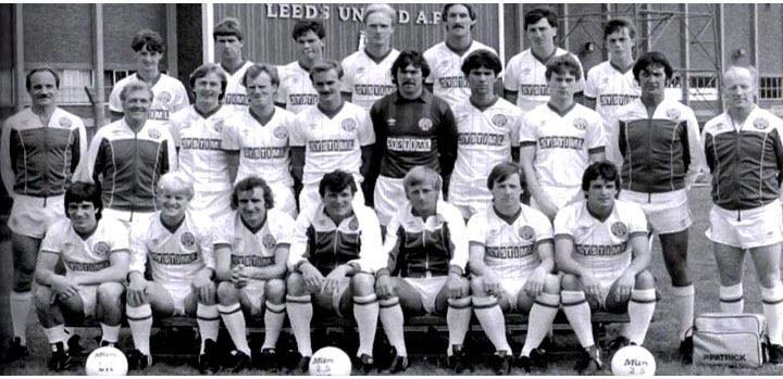 Leeds Squad Photo 1983 1984
