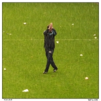 Saluting In The Rain
