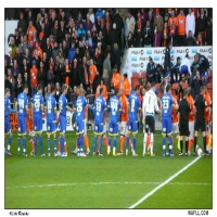 Line Up At Bloomfield Rd.