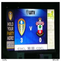 Scoreboard V Saints