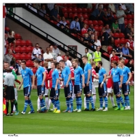 Line Up For The Saddlers