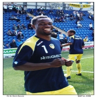 Sodje Smiles At Weston