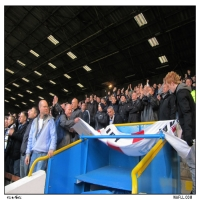 Banner Unfurled In Lancashire