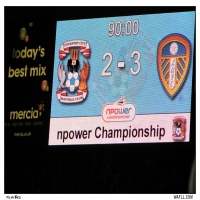 Result In Lights At The Ricoh