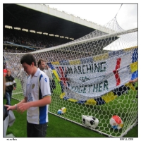 A Banner In The Nets