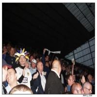In Darkness The Leeds Fan Sing