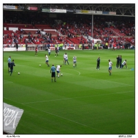 A Warm Up At City Ground