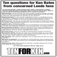 Ten For Ken Flyer