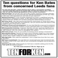 Ten For Ken Flyer