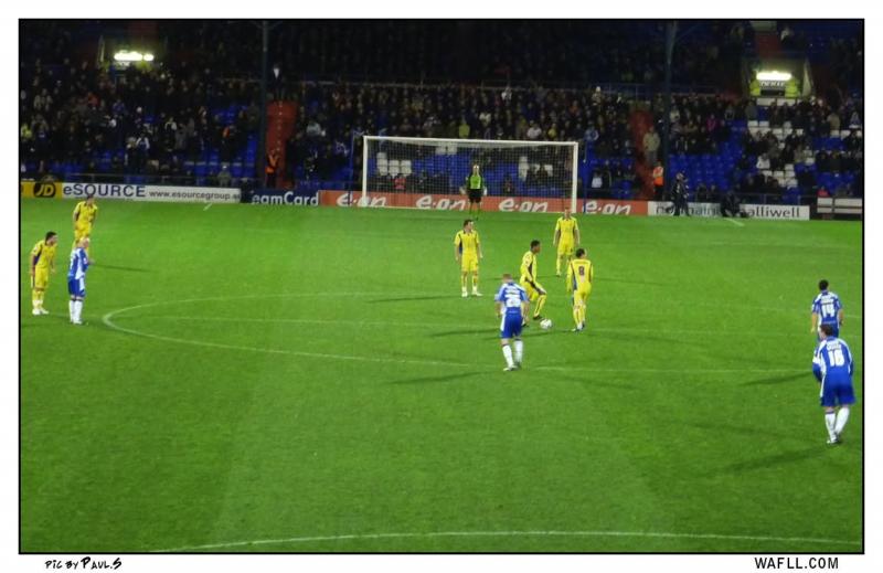 Kick Off At Oldham