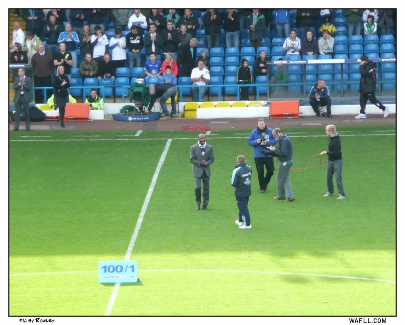 Chief On The Pitch