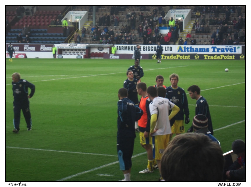 A Breather At Burnley