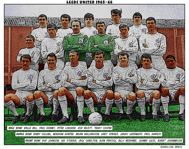 Leeds United 1965-66 No.0092