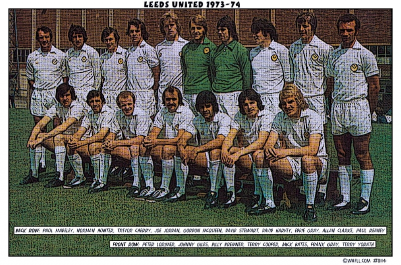 Leeds United 1973-74 No.0114