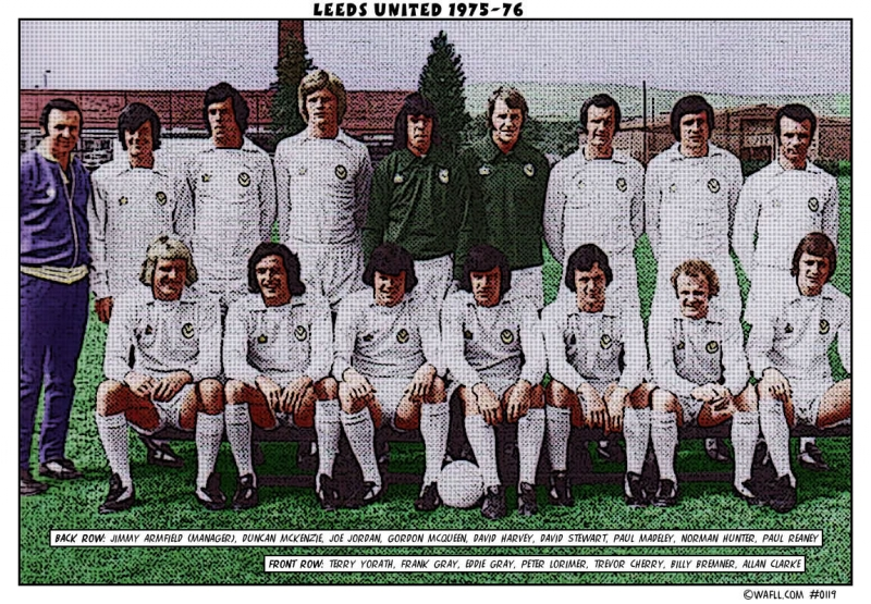 Leeds United 1975-76 No. 0119