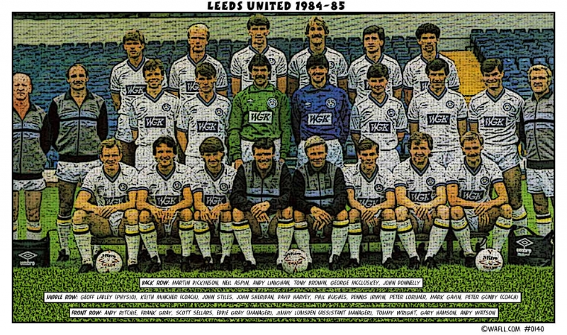 Leeds United 1984-85 No.0140
