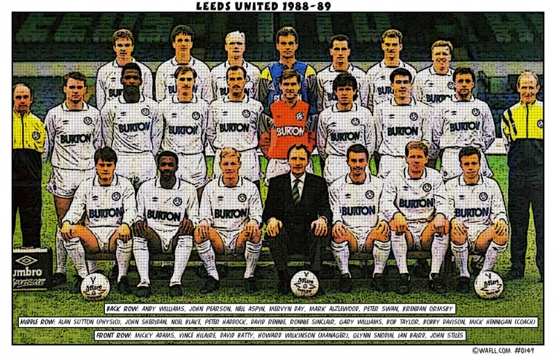Leeds United 1988-89 No.0149