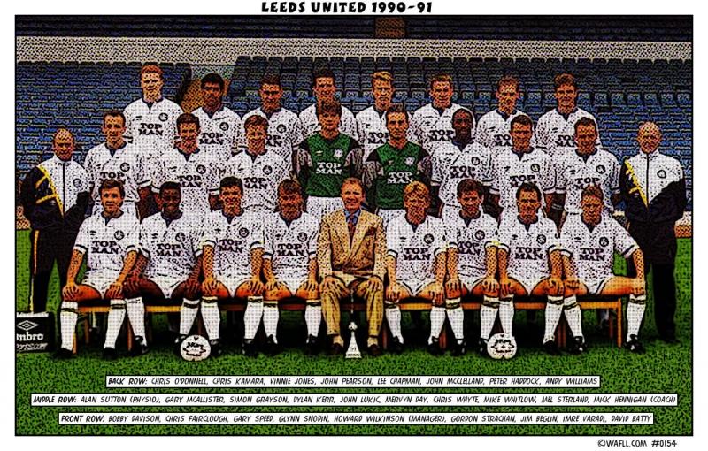Leeds United 1990-91 No.0154