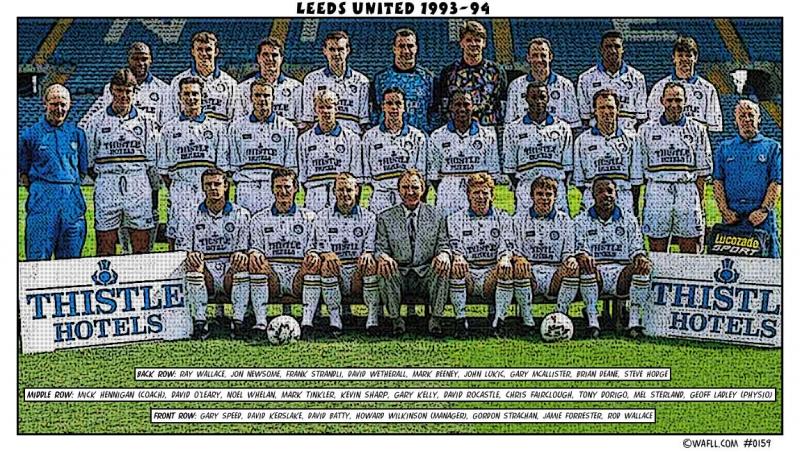 Leeds United 1993-94 No. 0161