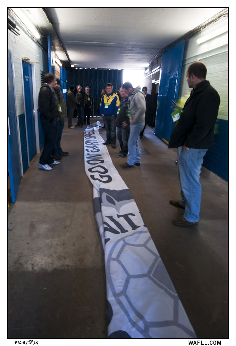 The Banner In The Tunnel
