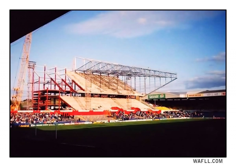 East Stand On The Up