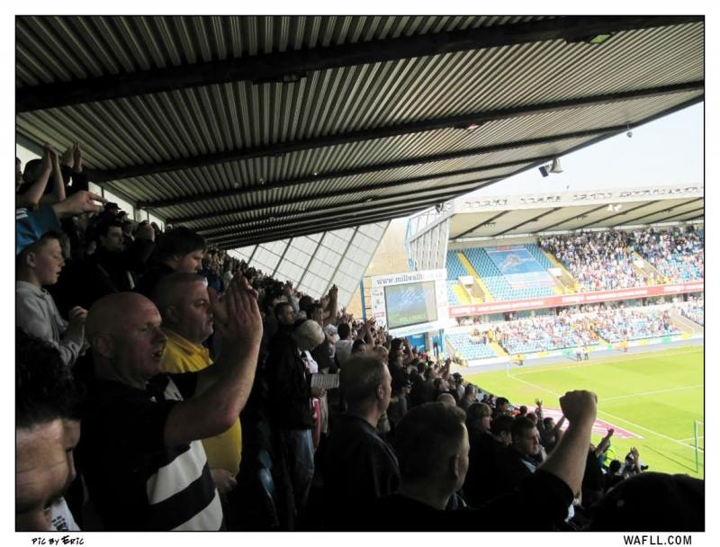 North Stand Den Stuffed