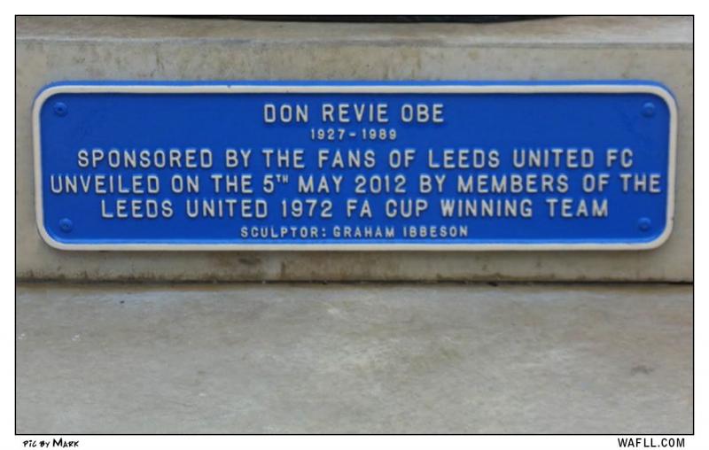 Don Revie Plaque