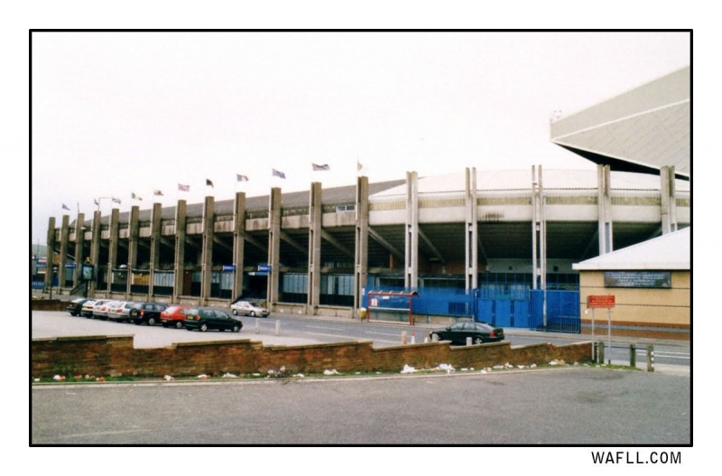 Outside ER - The South Stand