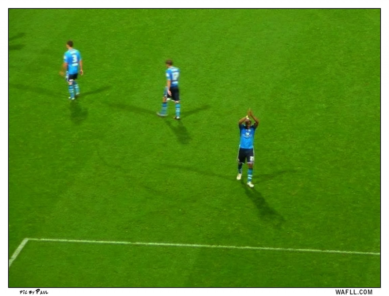 Diouf Applause