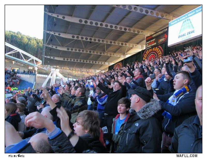 Marching On In Huddersfield