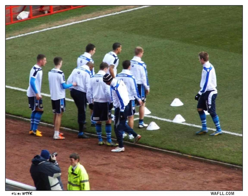 A Warm Up In Barnsley