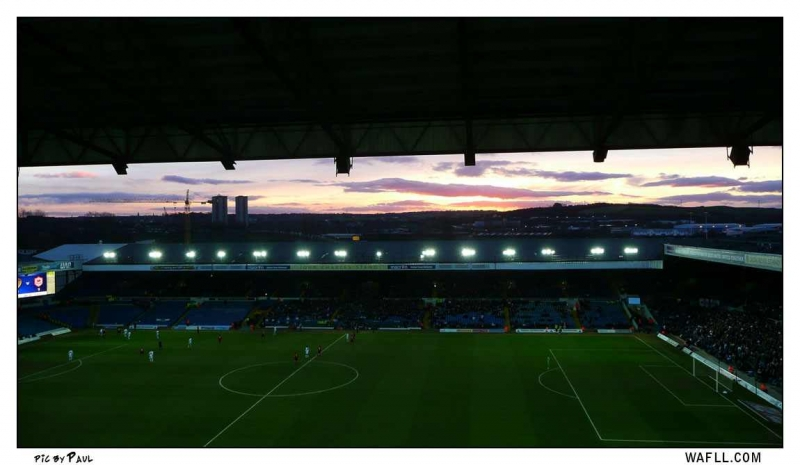 East Stand Point Of View