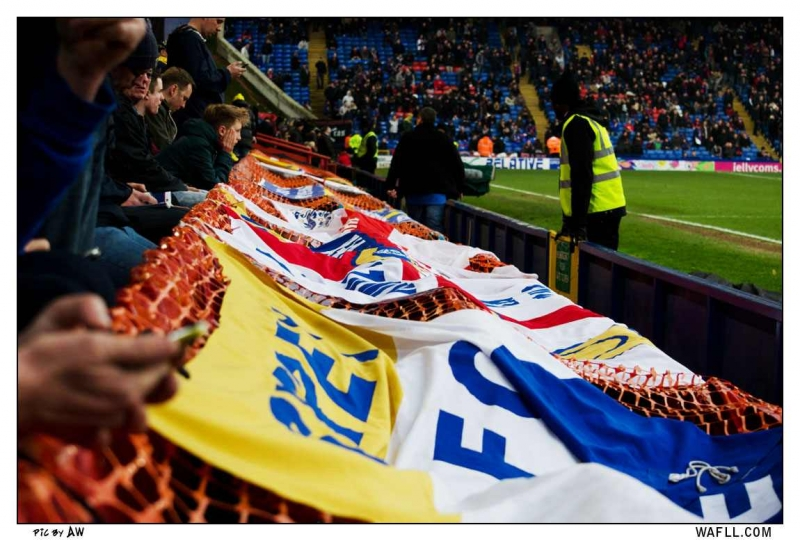 Banners Down The Waite Stand