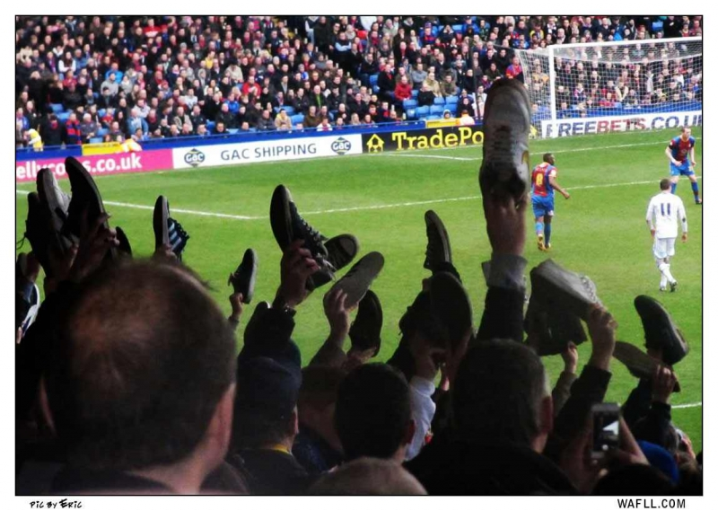 Shoes Off At Selhurst Park