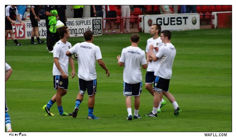 Warm Up At Walsall
