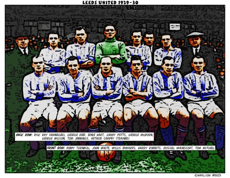 Leeds United 1929-30 No.0025