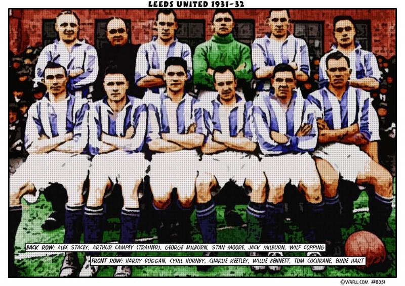 Leeds United 1931-32 No.0031