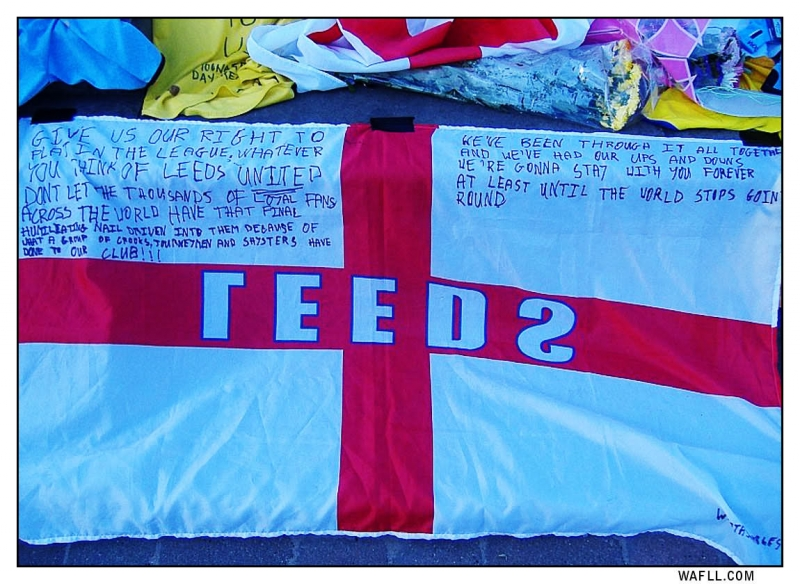 Message On A Flag