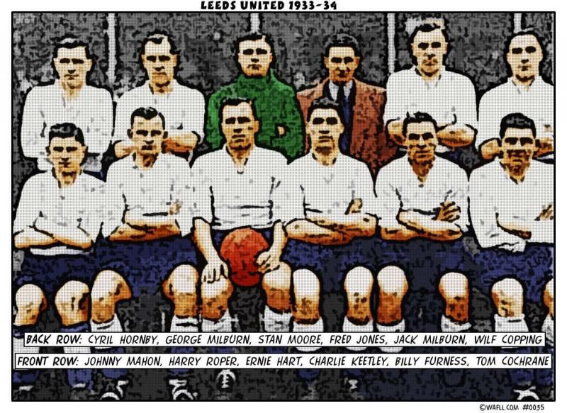 Leeds United 1933-34 No.0035