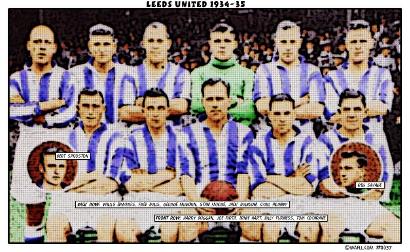Leeds United 1934-35 No.0037