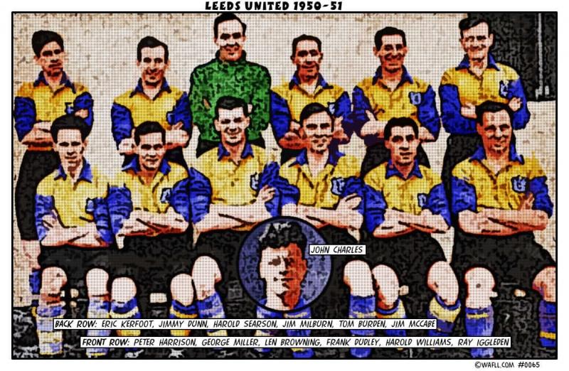 Leeds United 1950-51 No.0065