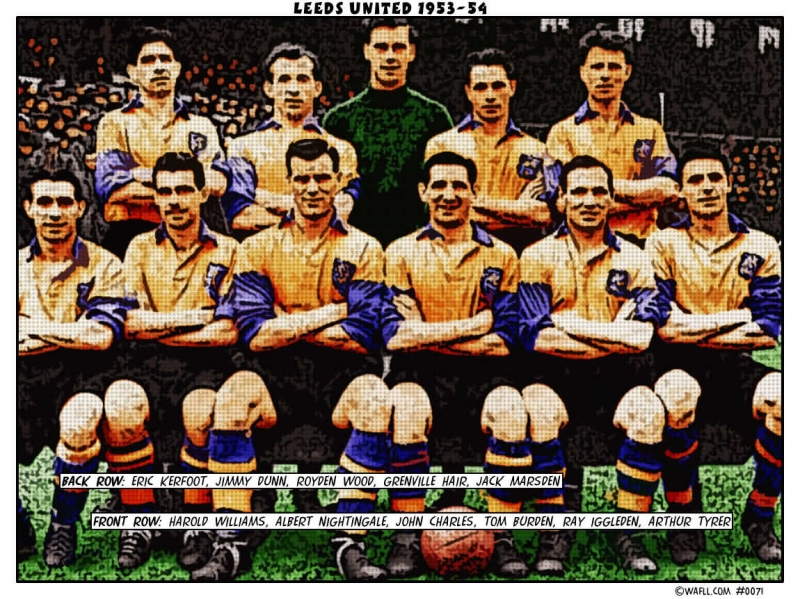 Leeds United 1953-54 No.0071