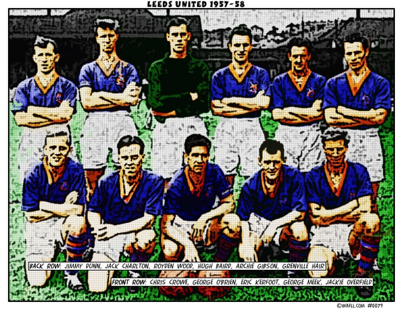 Leeds United 1957-58 No.0079