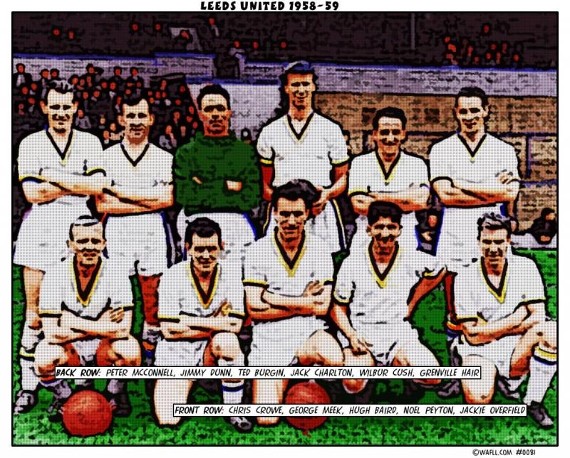 Leeds United 1958-59 No.0081