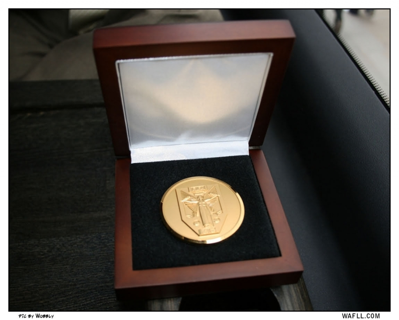 Les Cockers World Cup Medal  2